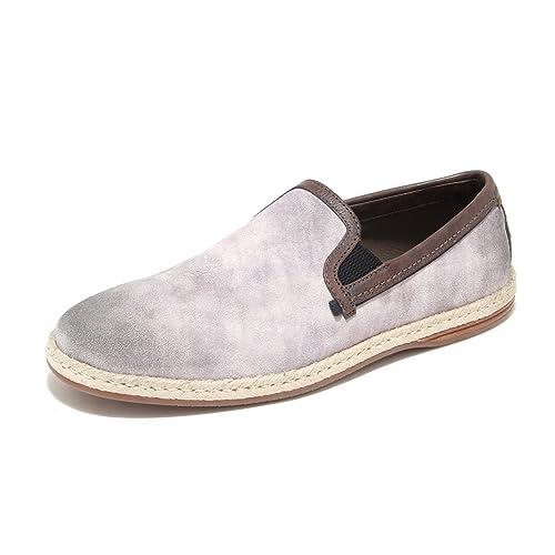 Dolce   Gabbana 6165L Mocassini Uomo Grigi D G Scarpe Loafers Shoes ... b06292c84b0