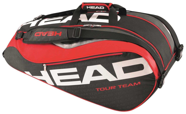 HEAD Tour Team 9R Supercombi Schläger Sporttasche schwarz HEADF|#HEAD