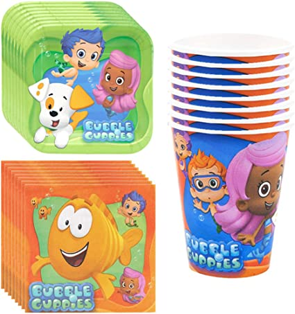 Each Amscan Bubble Guppies Party Supplies Game