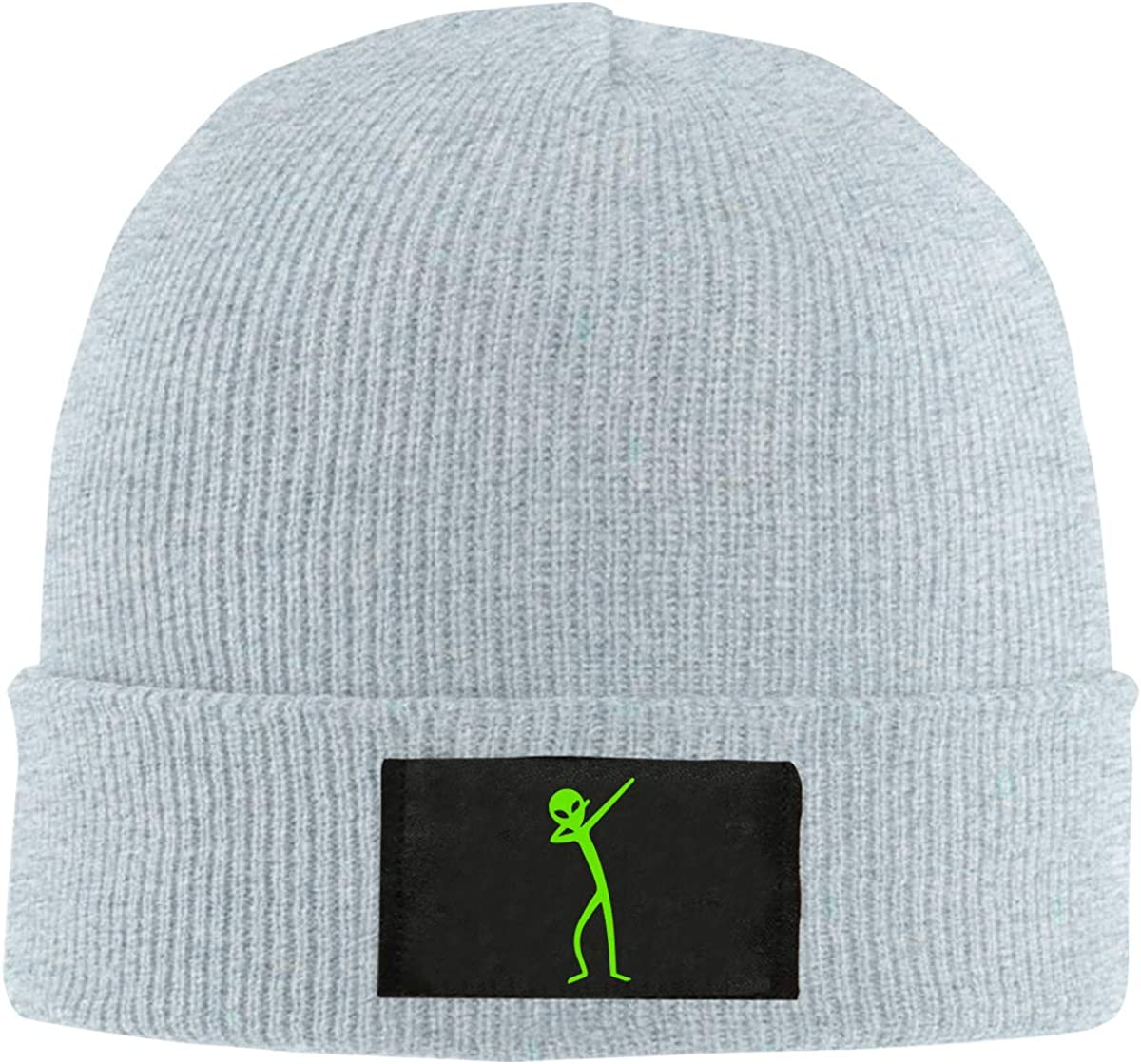 BF5Y6z/&MA Mens and Womens Dabbing Alien Knitting Hat 100/% Acrylic Stretch Beanies Cap
