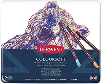 Derwent 24 Colored Pencils