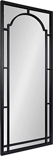 Kate and Laurel Lyla Modern Metal Framed Wall Mirror