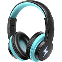 Kids Bluetooth Headphones Light Up, Jelly Comb Wireless/Wired Headphones with Noise Cancelling Microphone, 85/ 94dB…