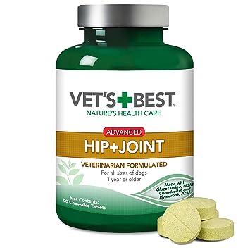 Mejor cadera y conjunto de la mascota perro complementos, 90 comprimidos masticables: Amazon.es: Productos para mascotas