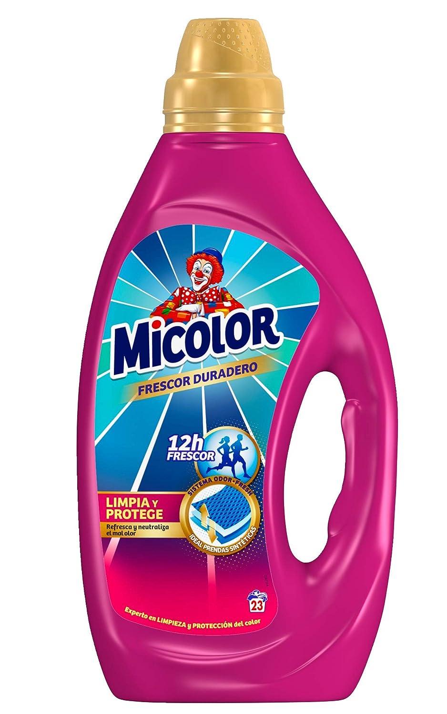 Micolor Detergente Líquido Frescor Duradero - 23 Lavados (1,15 L ...