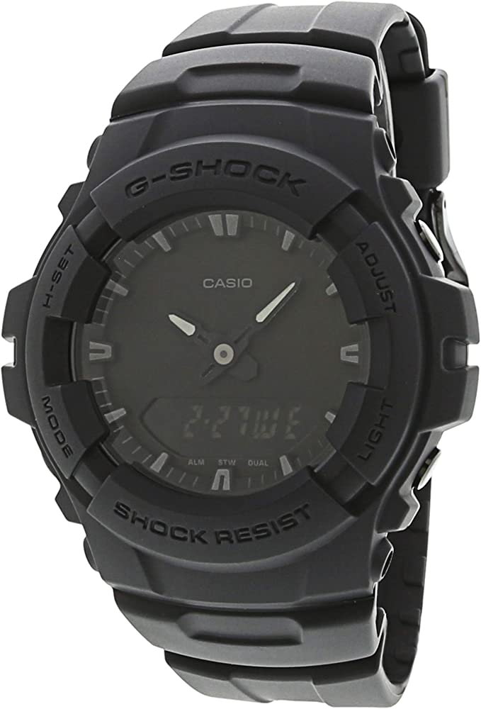 5d988e6b7f44 Amazon.com: Casio G-Shock Men039;s Black Out Series Analog Digital ...