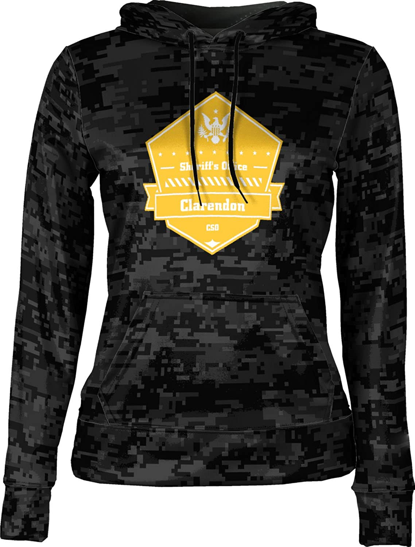 ProSphere Girls' Monroe County Sheriff's Office Digital Hoodie Sweatshirt (Apparel)