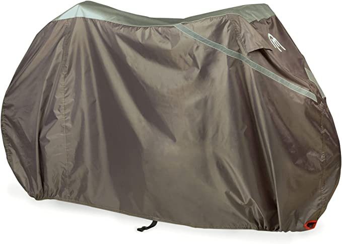Hbno Bike Covers for Outside Storage Waterproof Rust Prevention Bicycle Rain Resistant Cover Garage,for 1 Single Bike