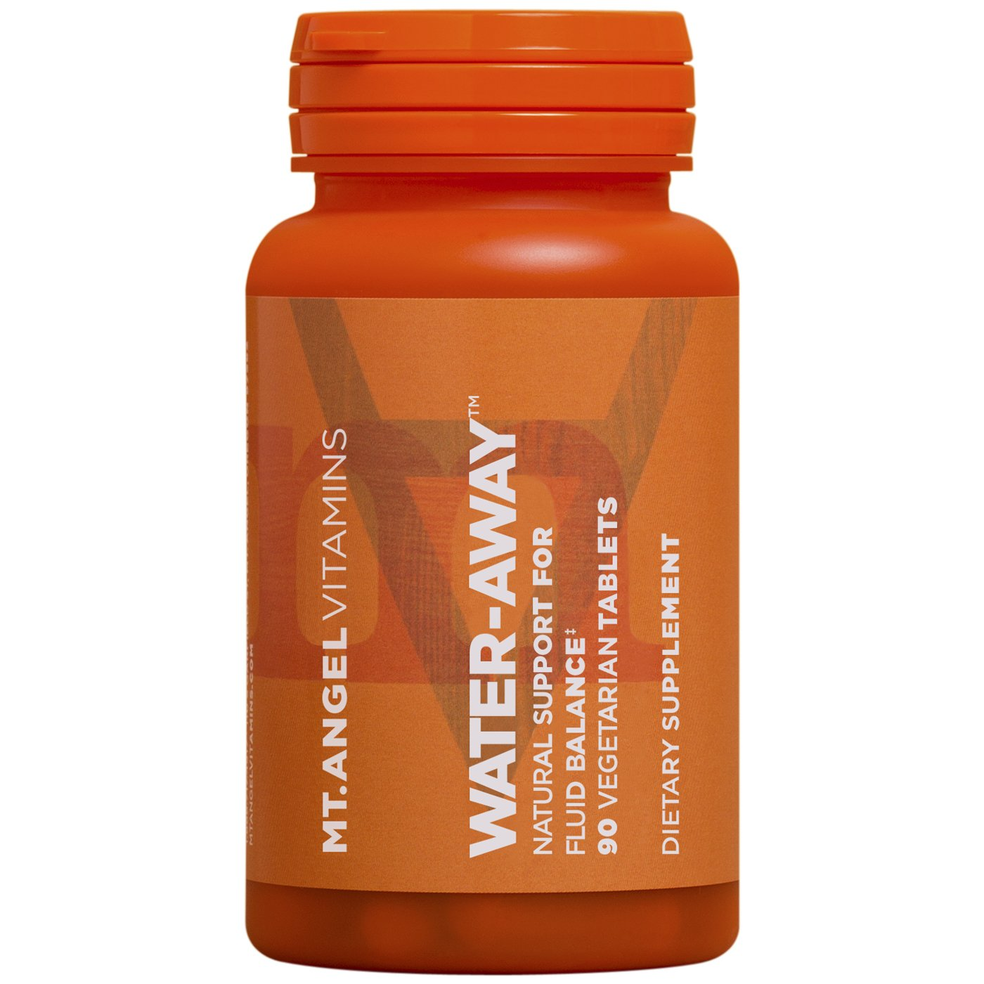 Mt. Angel Vitamins - Water-Away, Natural Support for Fluid Balance (90 Vegetarian Tablets)