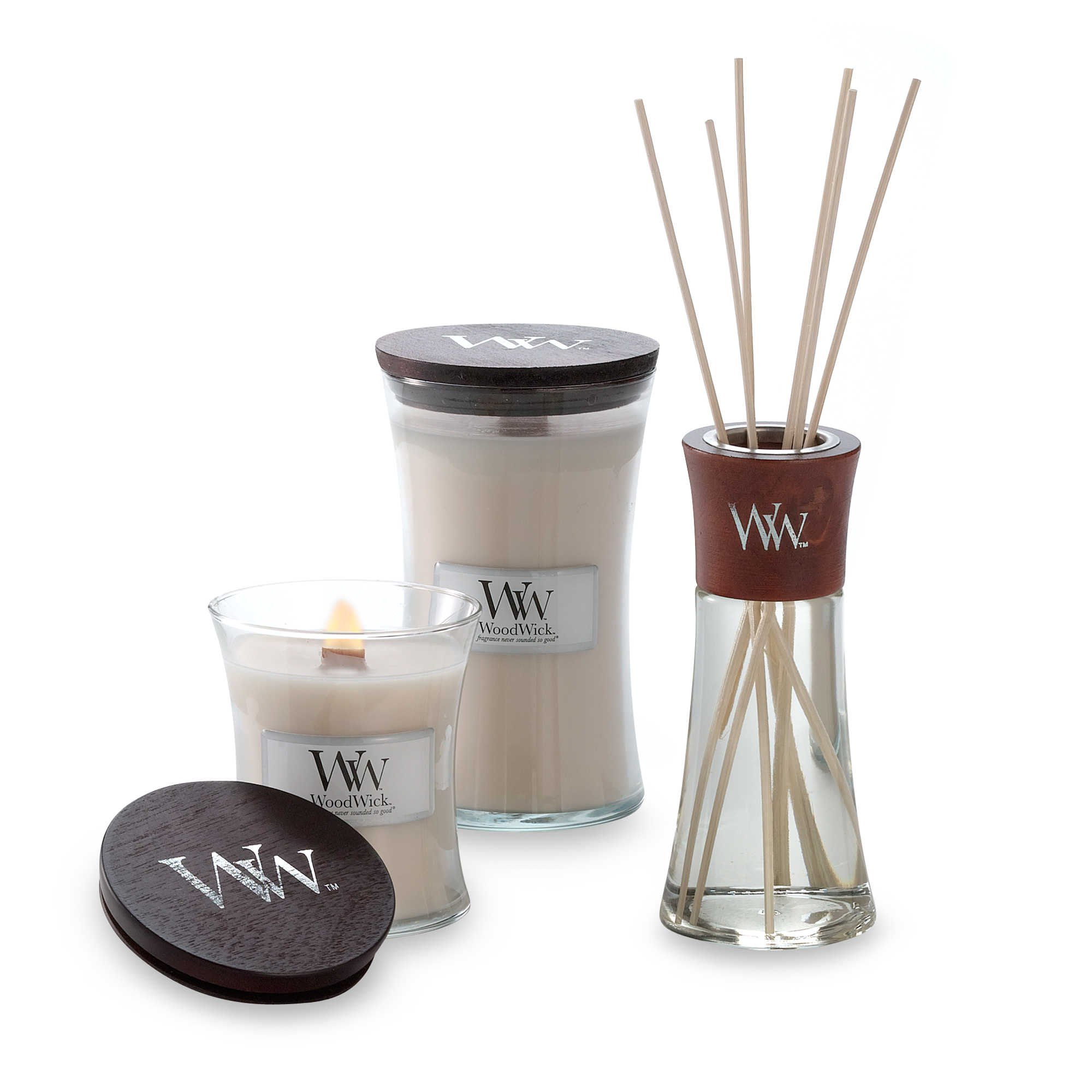 WoodWick Vanilla Bean Reed Diffuser by WoodWick (Image #1)