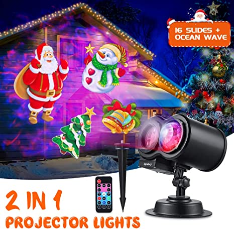 Mr Christmas All Year Round Green Laser Projector Light.