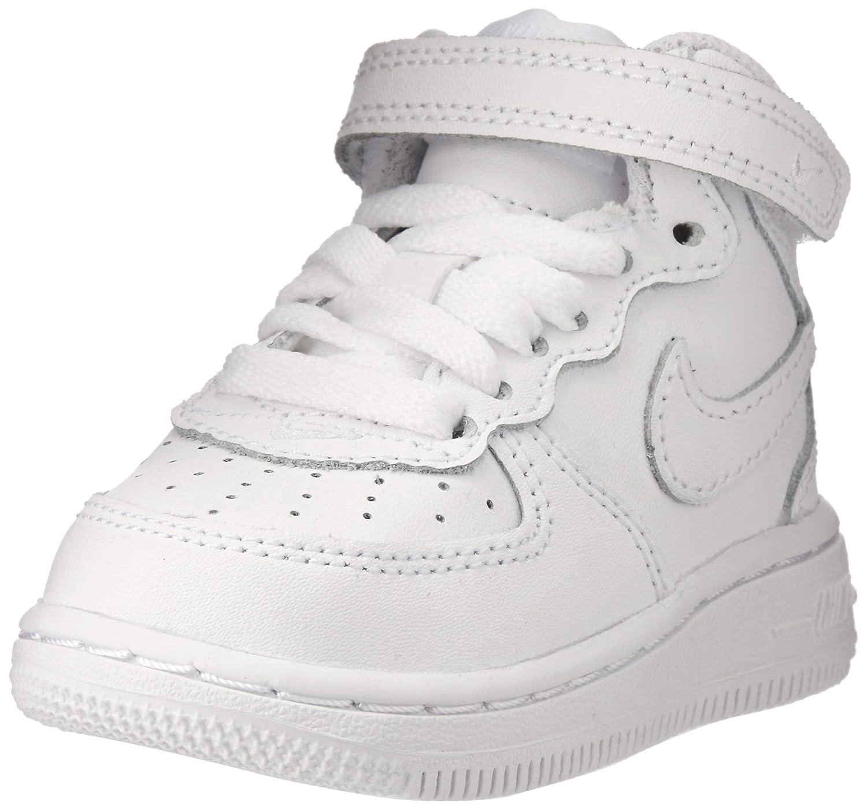 [314197 004] Nike Force 1 MID (TD) Infants Shoes BlackBlack