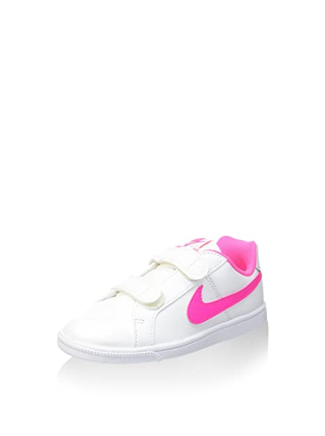 info for 521c4 fe6fb Nike Court Royale (PSV), Zapatillas para Niñas, Blanco (WhitePink Blast),  33.5 EU Amazon.es Zapatos y complementos