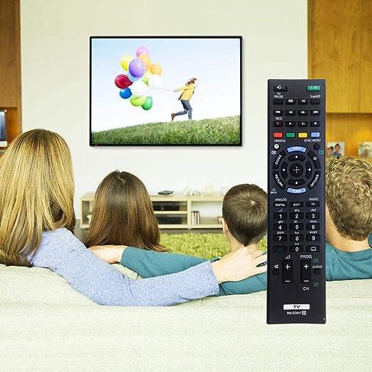 Nuevo RM-ED047 Mando a Distancia para Sony Bravia TV rm-ed050 rm-ed060 rm-ed061 Compatible con Controles remotos de Sony TV Mando a Distancia Universal: Amazon.es: Electrónica