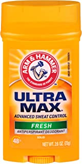 product image for Arm & Hammer Ultramax Solid Antiperspirant Deodorant Wide Stick, Fresh Scent 2.6 oz.