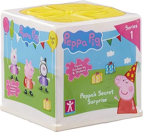 Amazon.com: Peppa Pig 06920 PEPPAS Secret Surprise, Multi ...