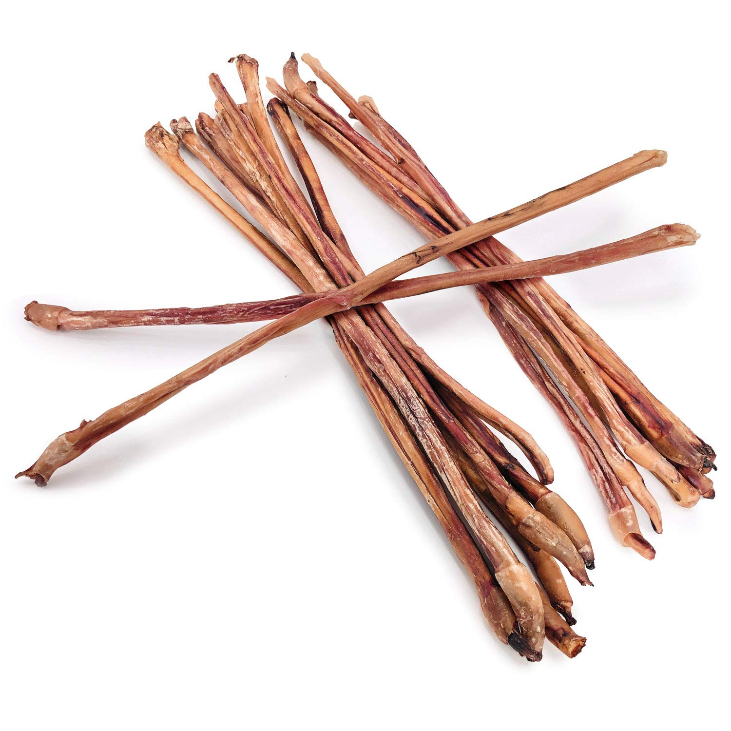 ValueBull Bully Sticks Dog Chews, 30-36 Inch Thick, All Natural, 20 Count