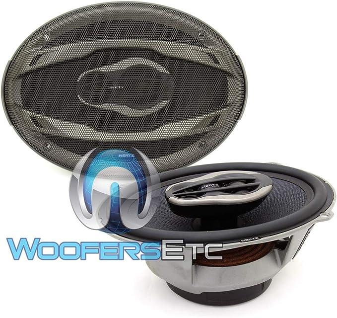 Hertz HCX690 3-Way 6X9 High Energy Coaxial Speakers