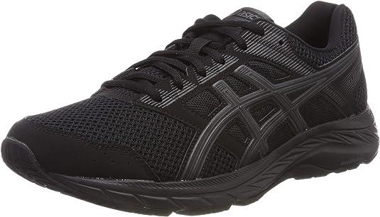 Asics Gel-Contend 5 1011a256-002, Zapatillas de Entrenamiento para Hombre, Negro (Black 1011a256/002), 39 1/2 EU: Amazon.es: Zapatos y complementos