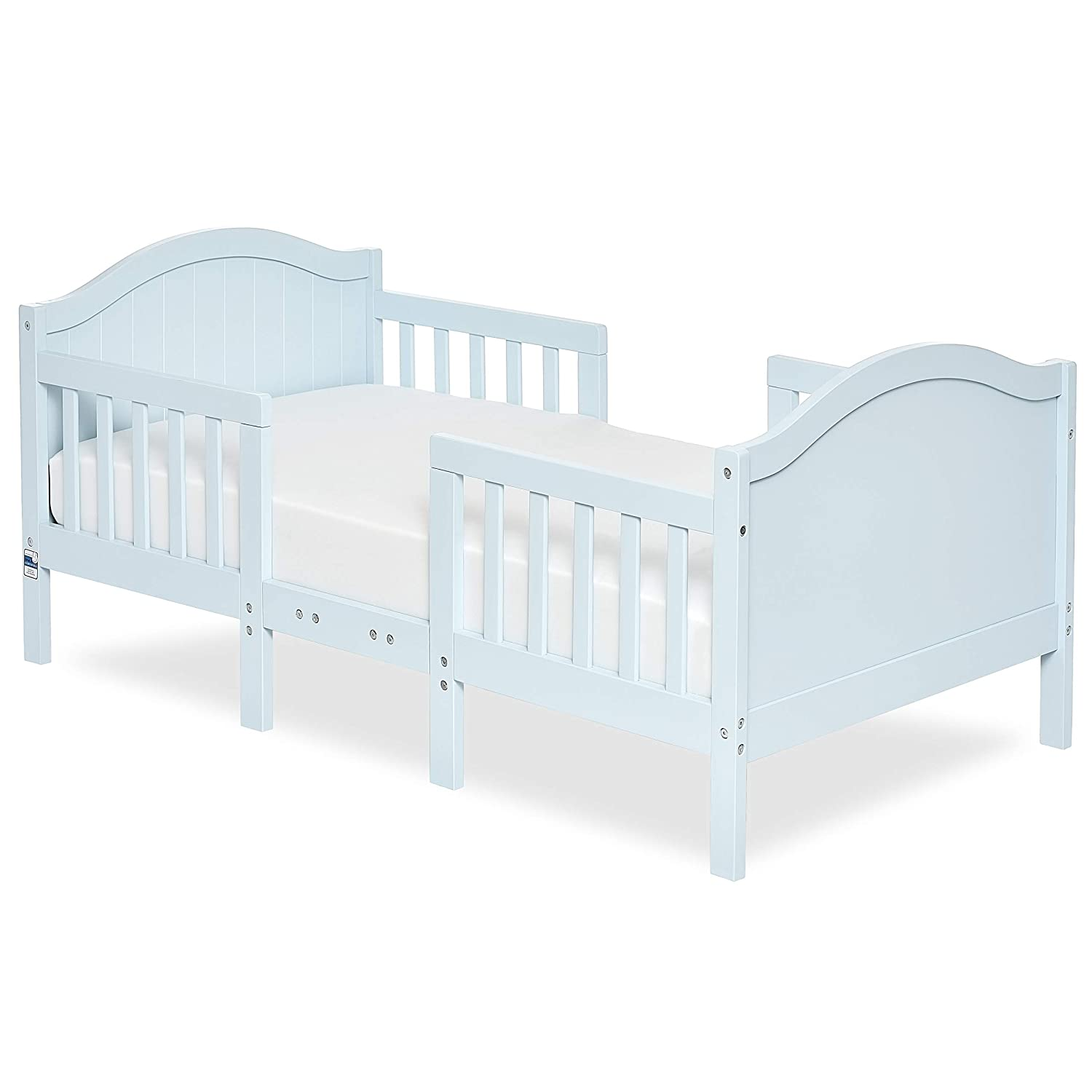 Dream On Me Portland 3 In 1 Convertible Toddler Bed, SkyBlue