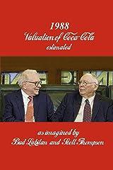 1988 Valuation of Coca-Cola Kindle Edition