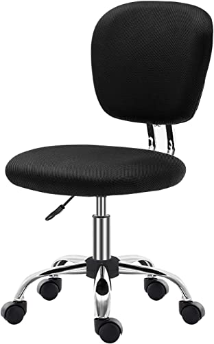 SEATZONE Mid Back Office Task Chair Without Arms Ergonomic Computer Desk Chair