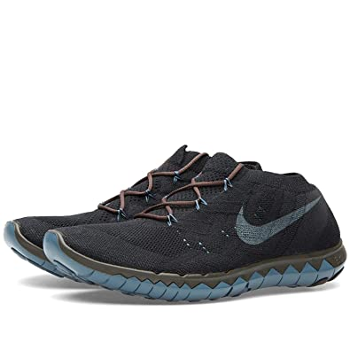 pretty nice 0b574 71159 Nike Men s Free 3.0 Flyknit Gyakusou Running Shoes, Gold Blue (Black Brown