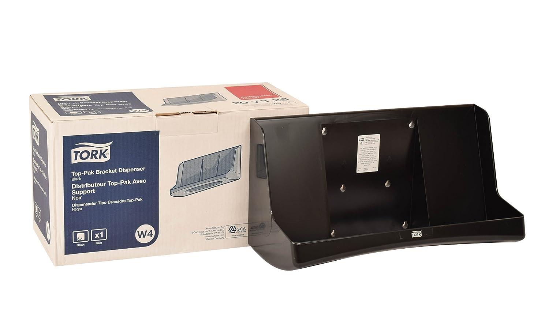 Tork 207328 Top-Pak Bracket Dispenser, 7.8