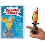 TALKING POLLY Speaking Parrot Bird Toy RECORDS & REPEATS Kids Fun Novelty Gift by Lizzy® (Pack of 1)