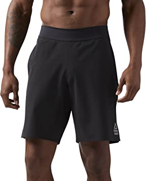 Reebok Crossfit Speed Short Homme, Black, FR : L (Taille