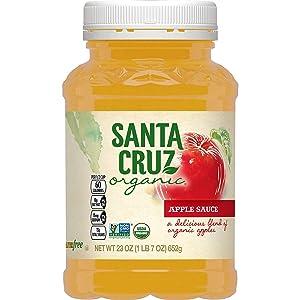 Santa Cruz, Organic Applesauce, 23 Oz