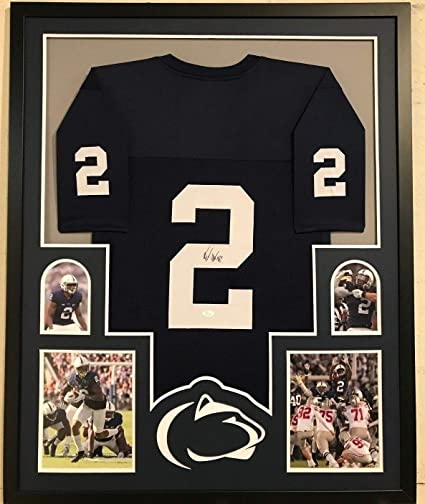 watch a9b7f 73e21 Framed Marcus Allen Autographed Signed Penn State Jersey ...