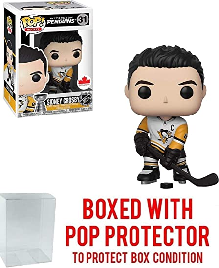 Funko POP 31 NHL Hockey Canada Exclusive Penguins SIDNEY CROSBY Vinyl Figure