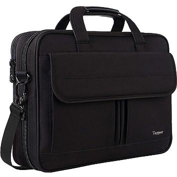 Maletín para Hombre de 15,6 Pulgadas para Ordenador portátil, para Negocios, portátil, de 15 Pulgadas, Compatible con HP/Lenovo/ASUS/Toshiba/Apple, ...
