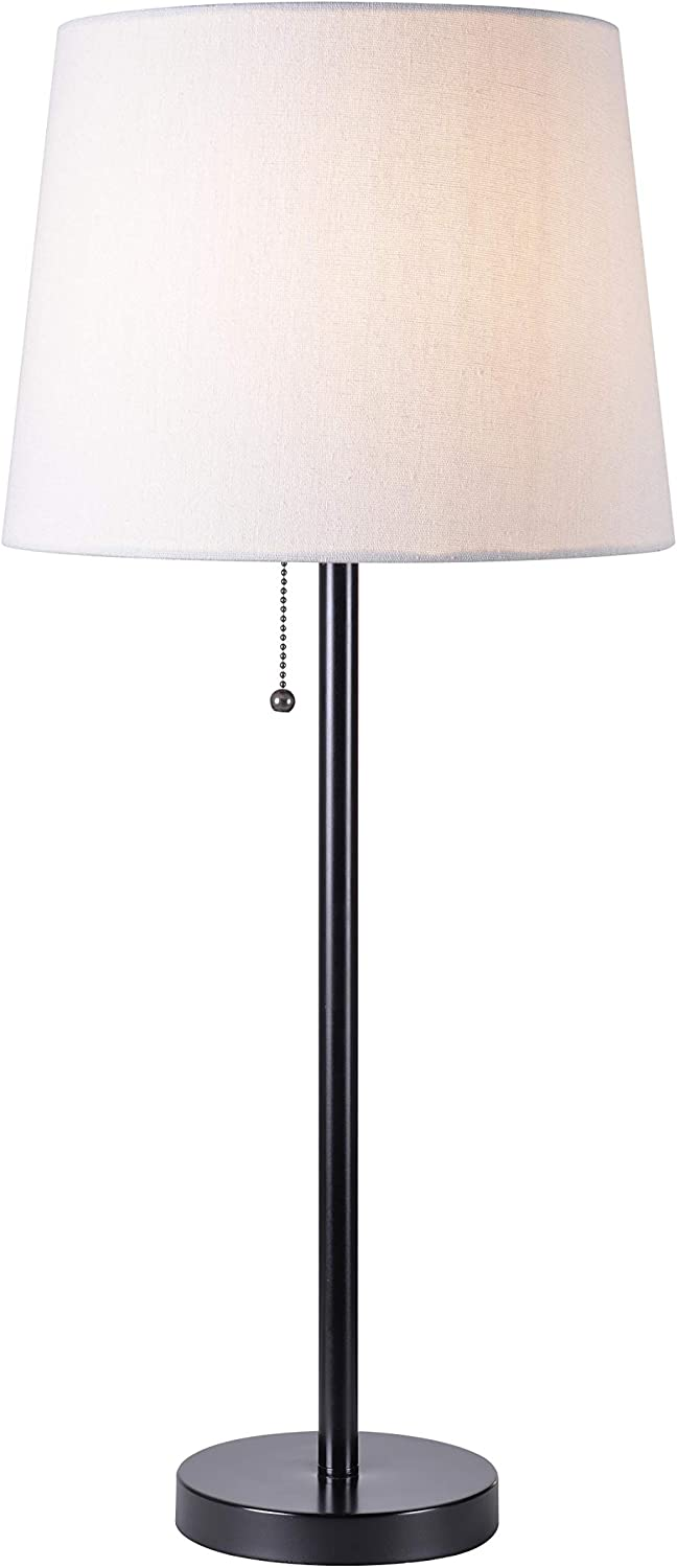 Kenroy Home 33336BL Chase Table Lamps, Black