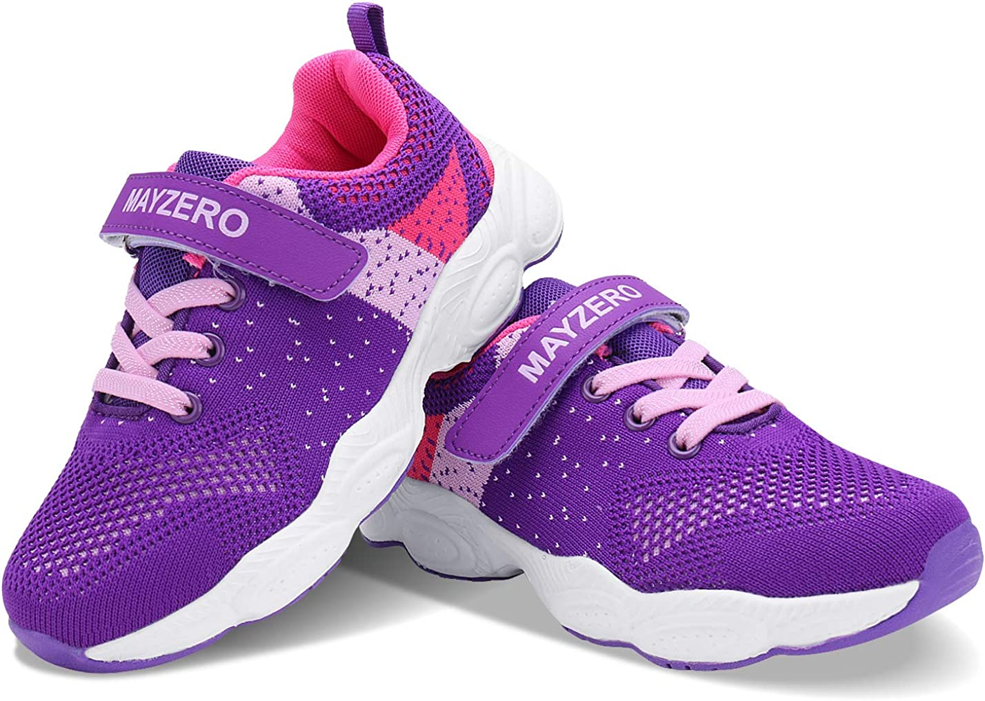 Lingmu Girls Boys Fashionable Running Shoes Kid Breathable Non-Slip Tennis Shoes Outdoor Sports Shoes Childrens Toddler//Little Kid//Big Kid