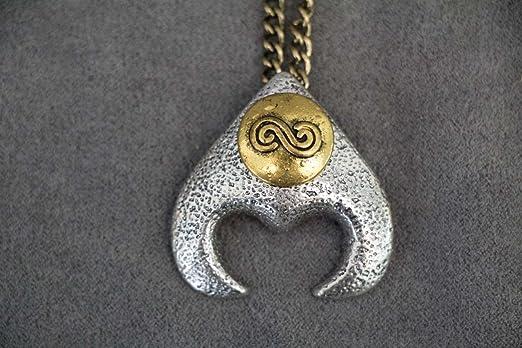 Amazon goblin king jareth labyrinth pendant david bowies goblin king jareth labyrinth pendant david bowies labyrinth necklace pendant mozeypictures Image collections