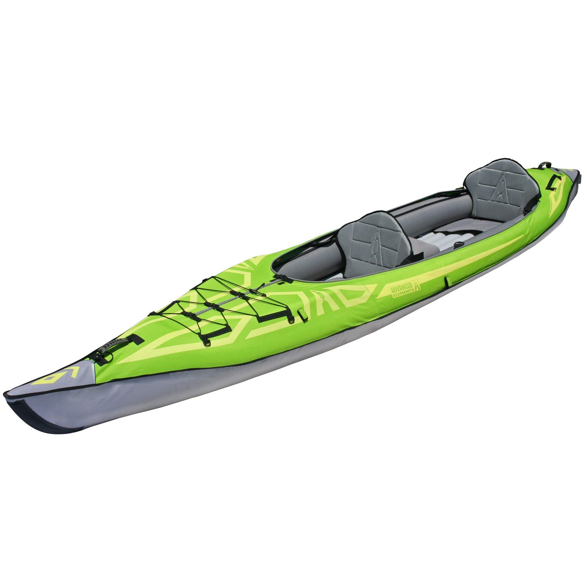 ADVANCED ELEMENTS AdvancedFrame Convertible Inflatable Kayak, Green