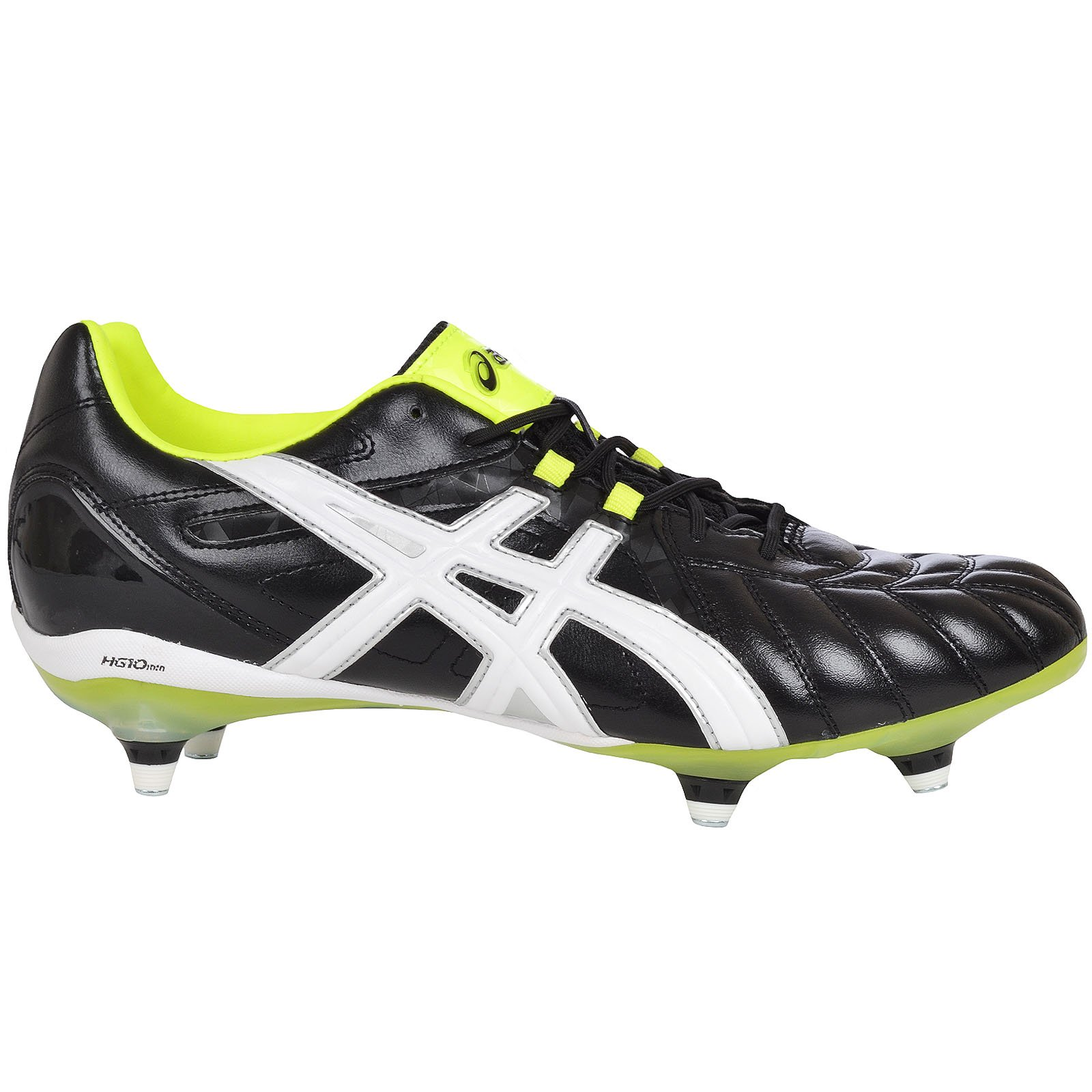 ASICS Mens Lethal Tigreor 8 Stud Rugby Boots Cleats - Black - 10.5 US by ASICS
