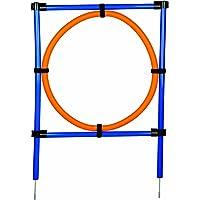 Trixie Dog Activity Anneau Agilité 115 x 3 cm / 65 cm Orange / Bleu