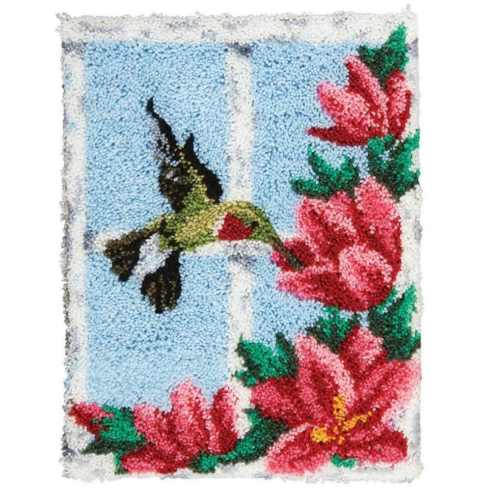 Sundance Hummingbird at My Window Latch Hook Kit