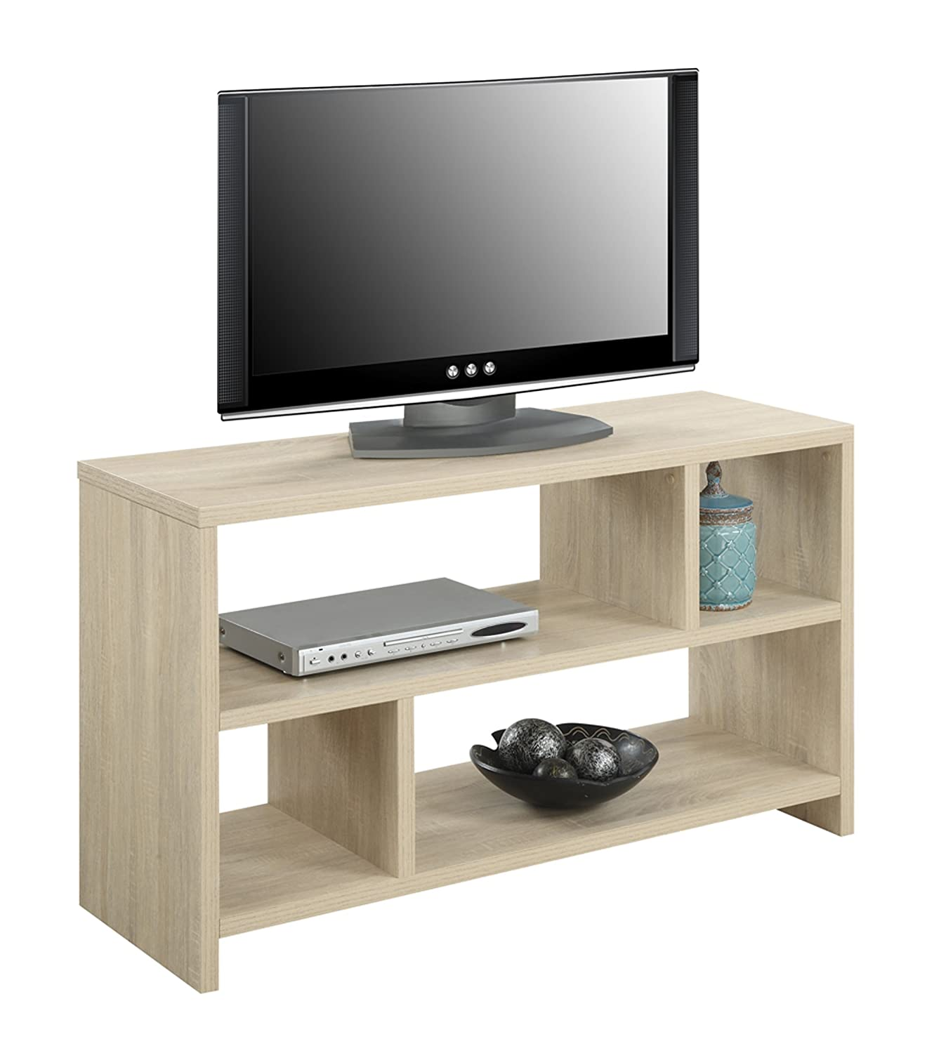 Amazon convenience concepts designs2go northfield tv stand amazon convenience concepts designs2go northfield tv stand console weathered white kitchen dining geotapseo Image collections