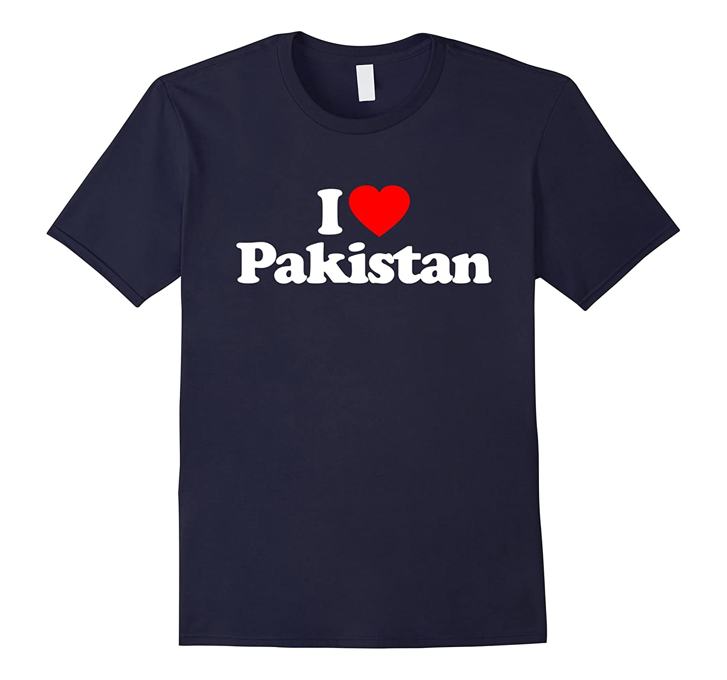 I Love Heart Pakistan Funny T-Shirt-TH