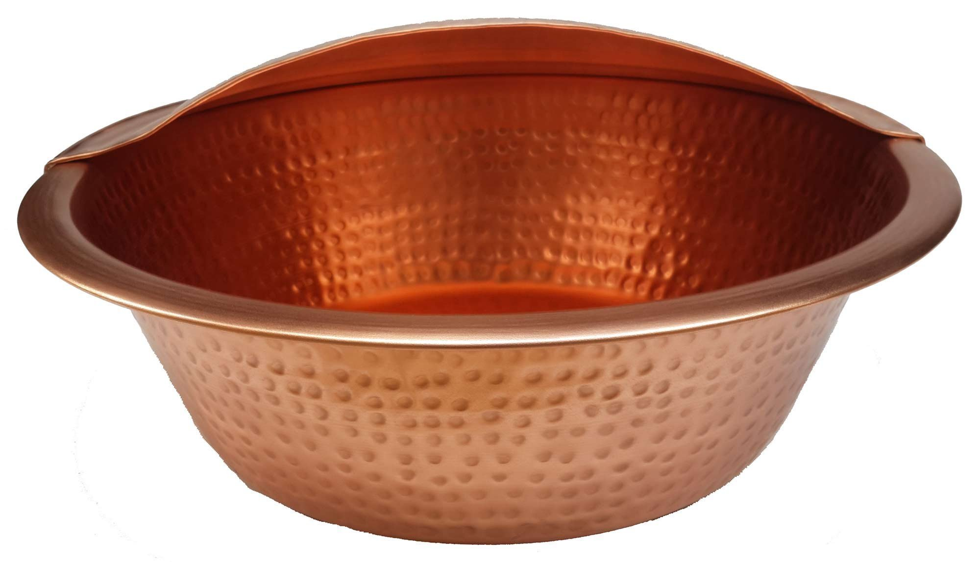 Egypr gift shops Polished Copper Massage Therapy Pedicure Bowl + Foot Rest
