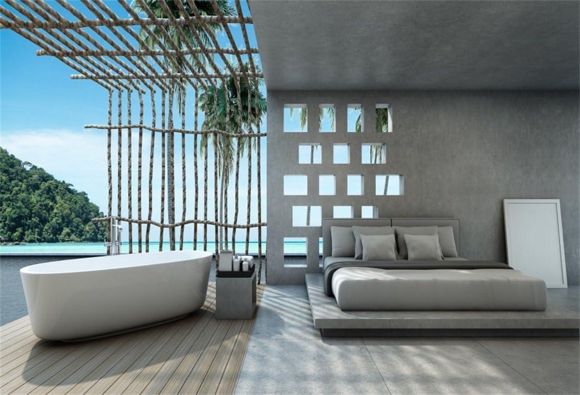 Aofoto 8 X 1 83 M Luxus Schlafzimmer Pool Villa Kamera
