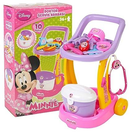 Kids Minnie/Mickey Mouse Barbie Set de enfermera/médico - Carro de ...