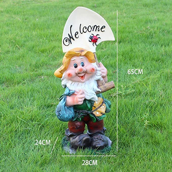 Toasty the Garden Gnome 24cm