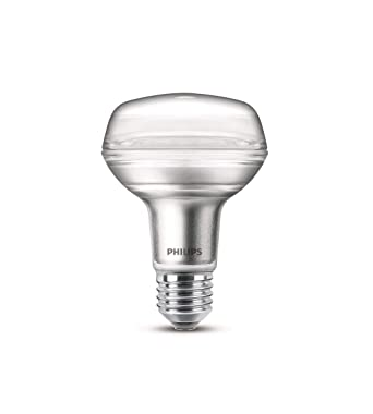 Verre 100w Chaud Philips Ampoule Led R80 Equivalent E27 8w Blanc 8n0OkwPX