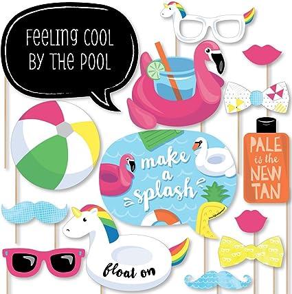 Amazon.com: Big Dot of Happiness hacer un Splash – fiesta en ...