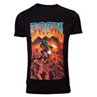 DOOM T-Shirt -L- Box Art, schwarz